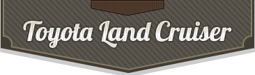 Toyota Land Cruiser bontó